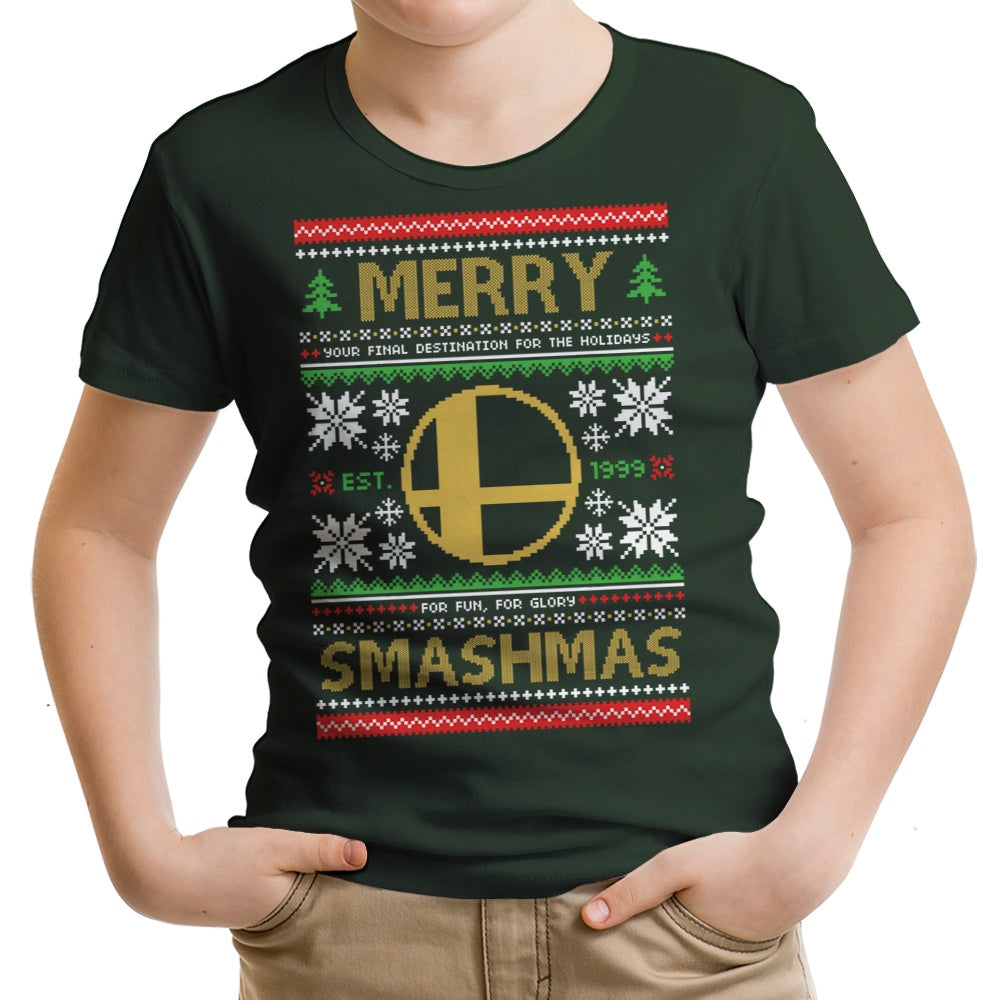 Merry Smashmas - Youth Apparel