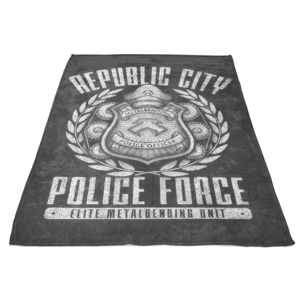 Metal is Enduring - Fleece Blanket