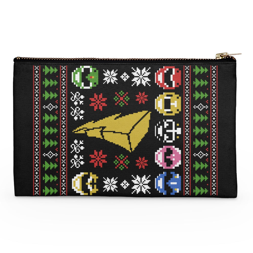 Mighty Morphin' Sweater - Accessory Pouch