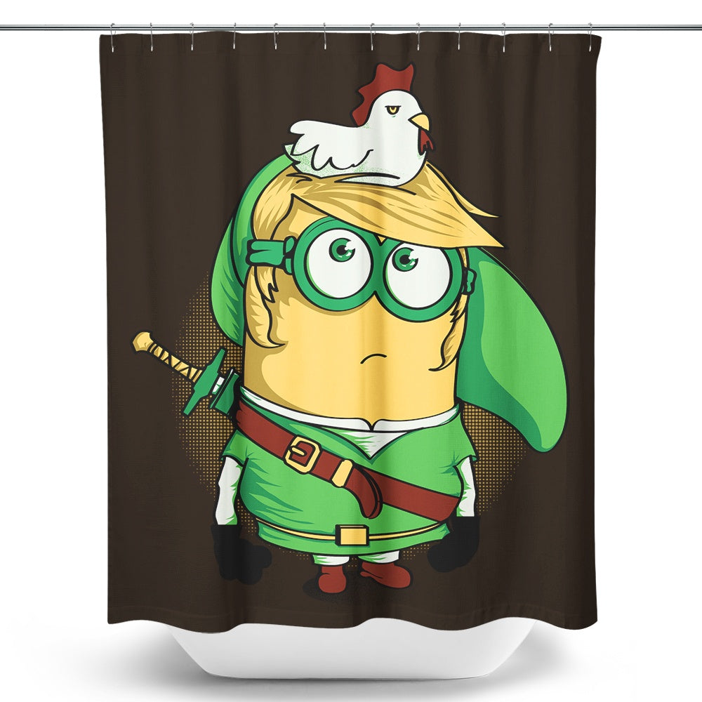 MinLink - Shower Curtain