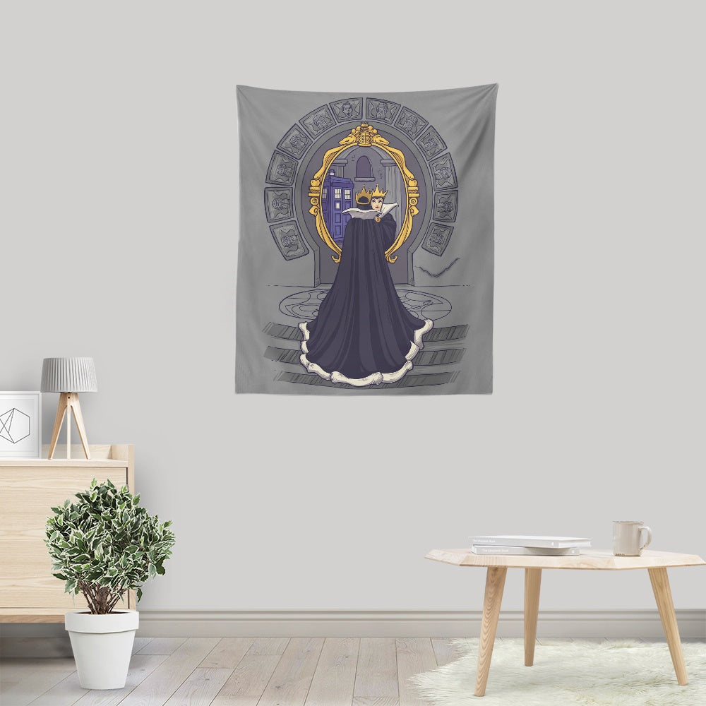 Mirror Mirror on the Wall - Wall Tapestry