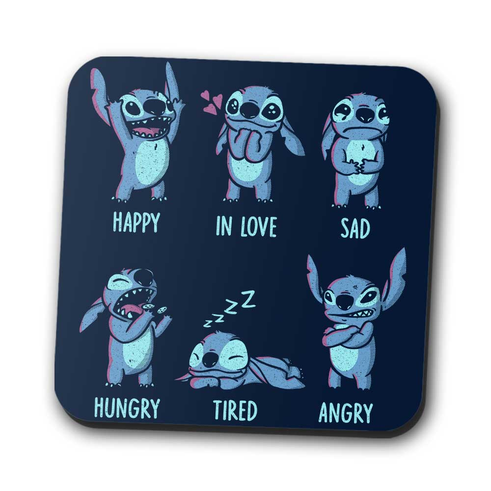 Monster Emotions - Coasters