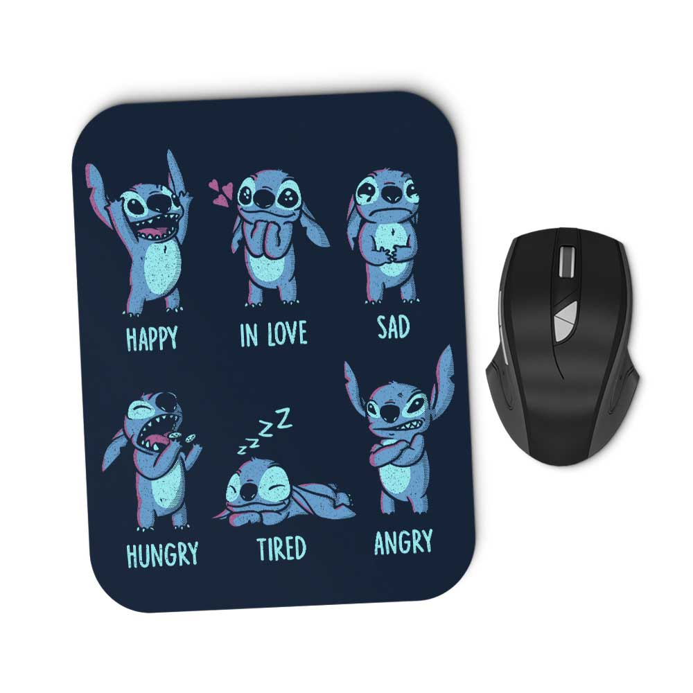 Monster Emotions - Mousepad