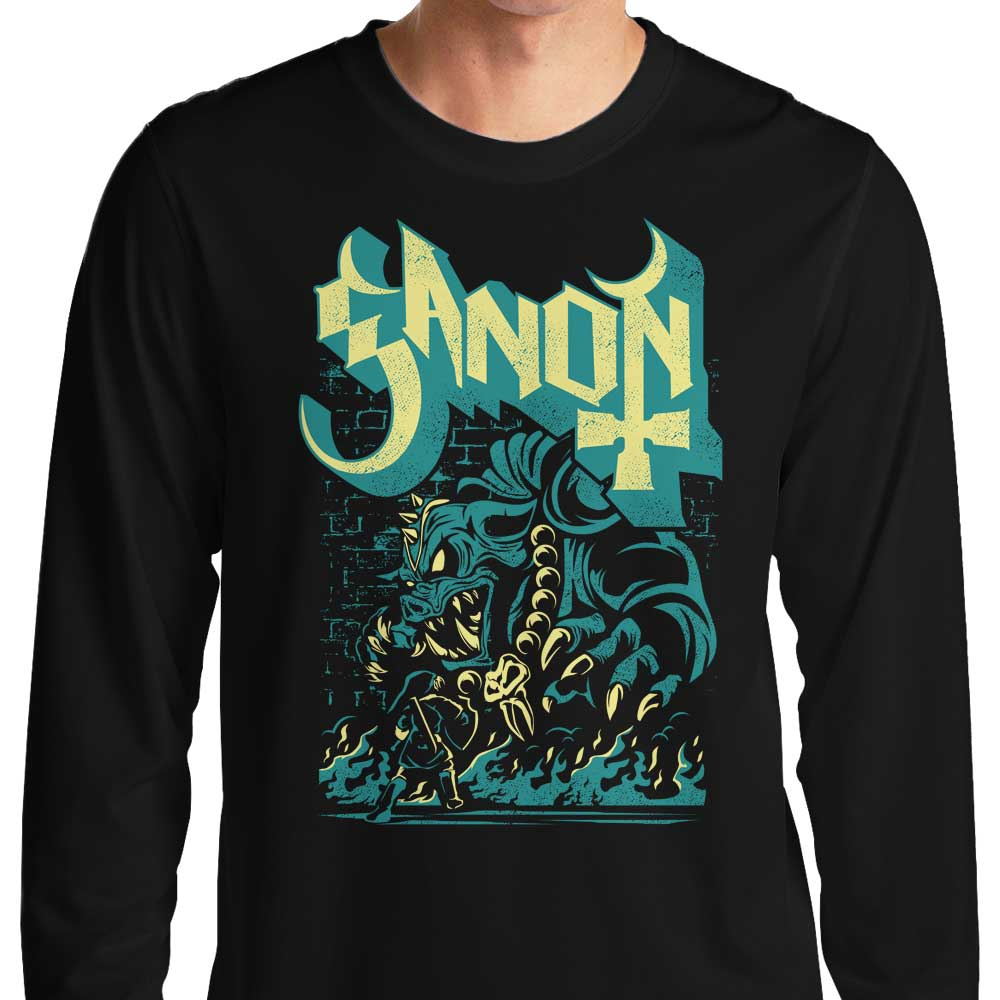 Monstrous Prince of Darkness - Long Sleeve T-Shirt