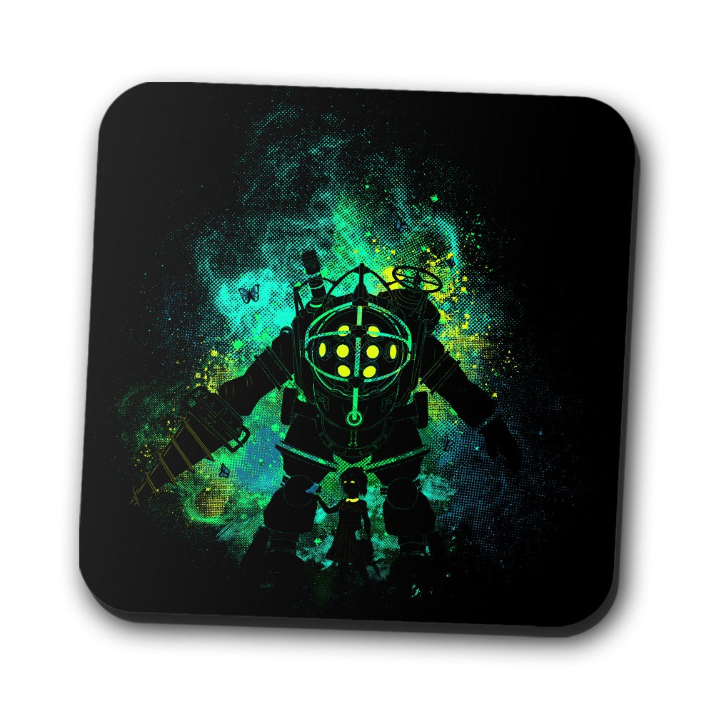 Mr. Bubble Art - Coasters