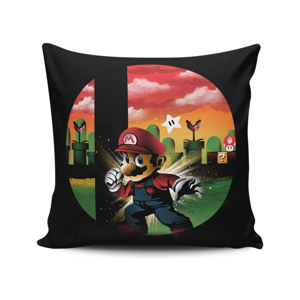 Mushroom Smash - Throw Pillow