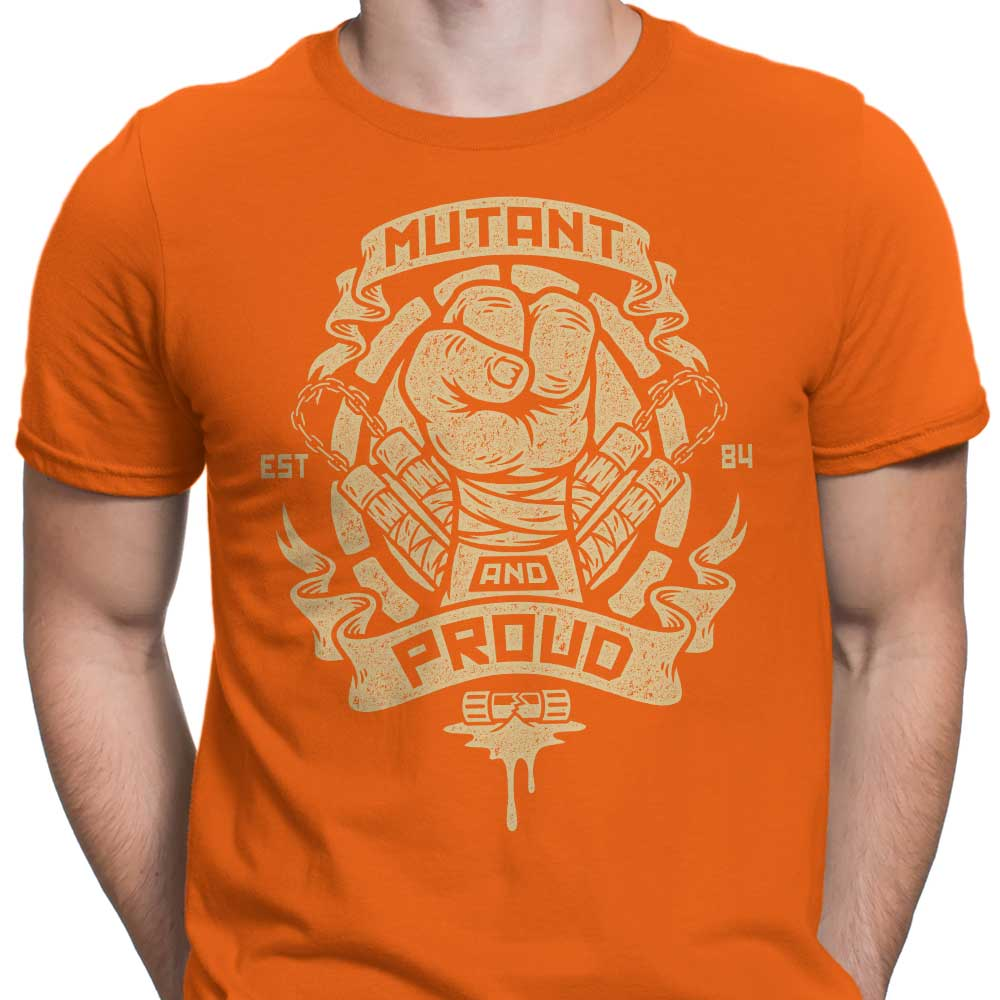 Mutant and Proud: Mikey - Men's Apparel