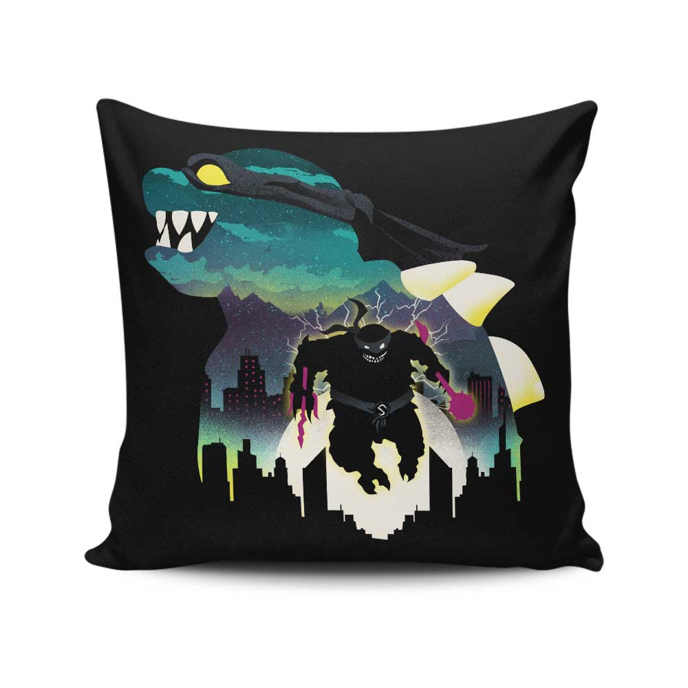Mutant Snapper - Throw Pillow