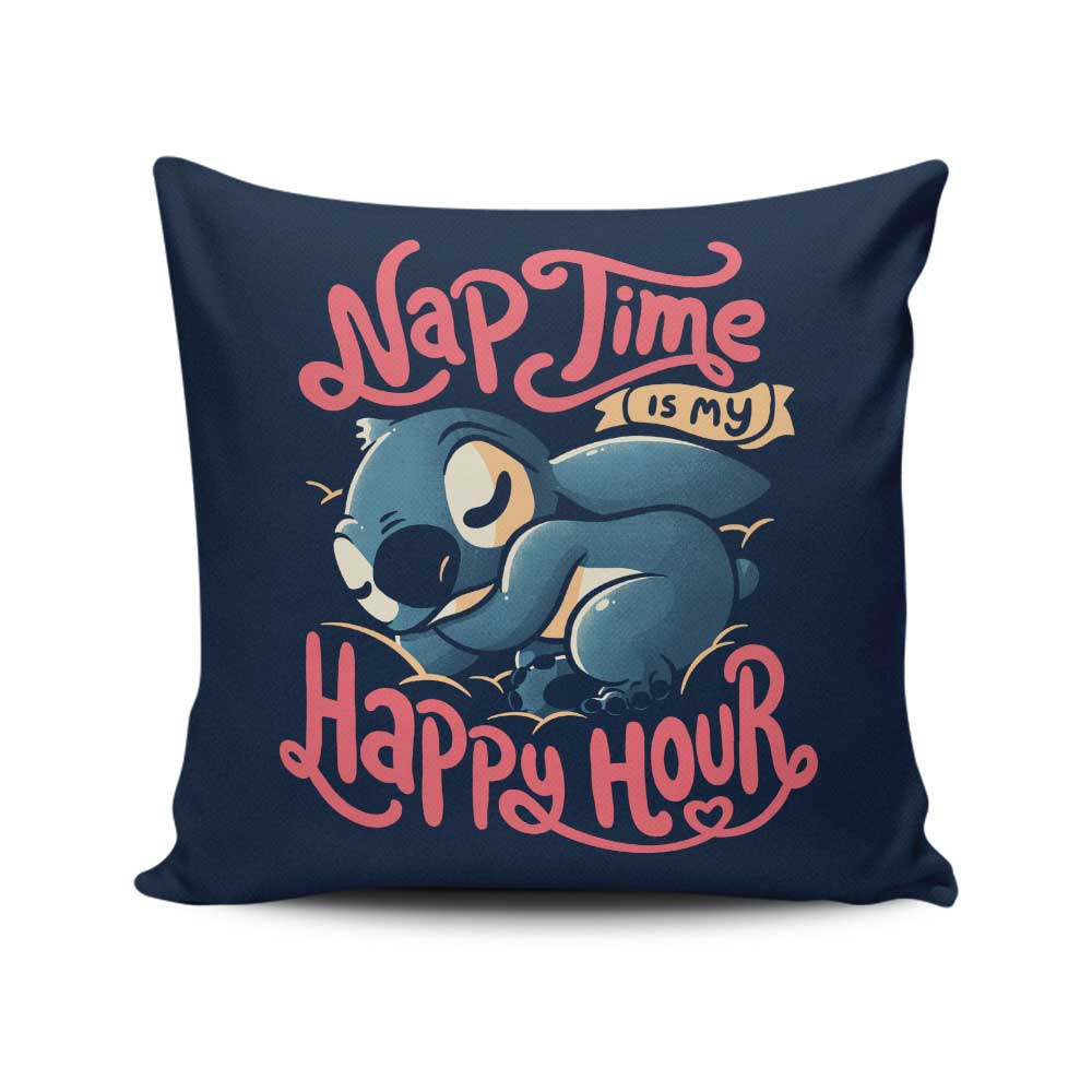 My Happy Hour - Throw Pillow