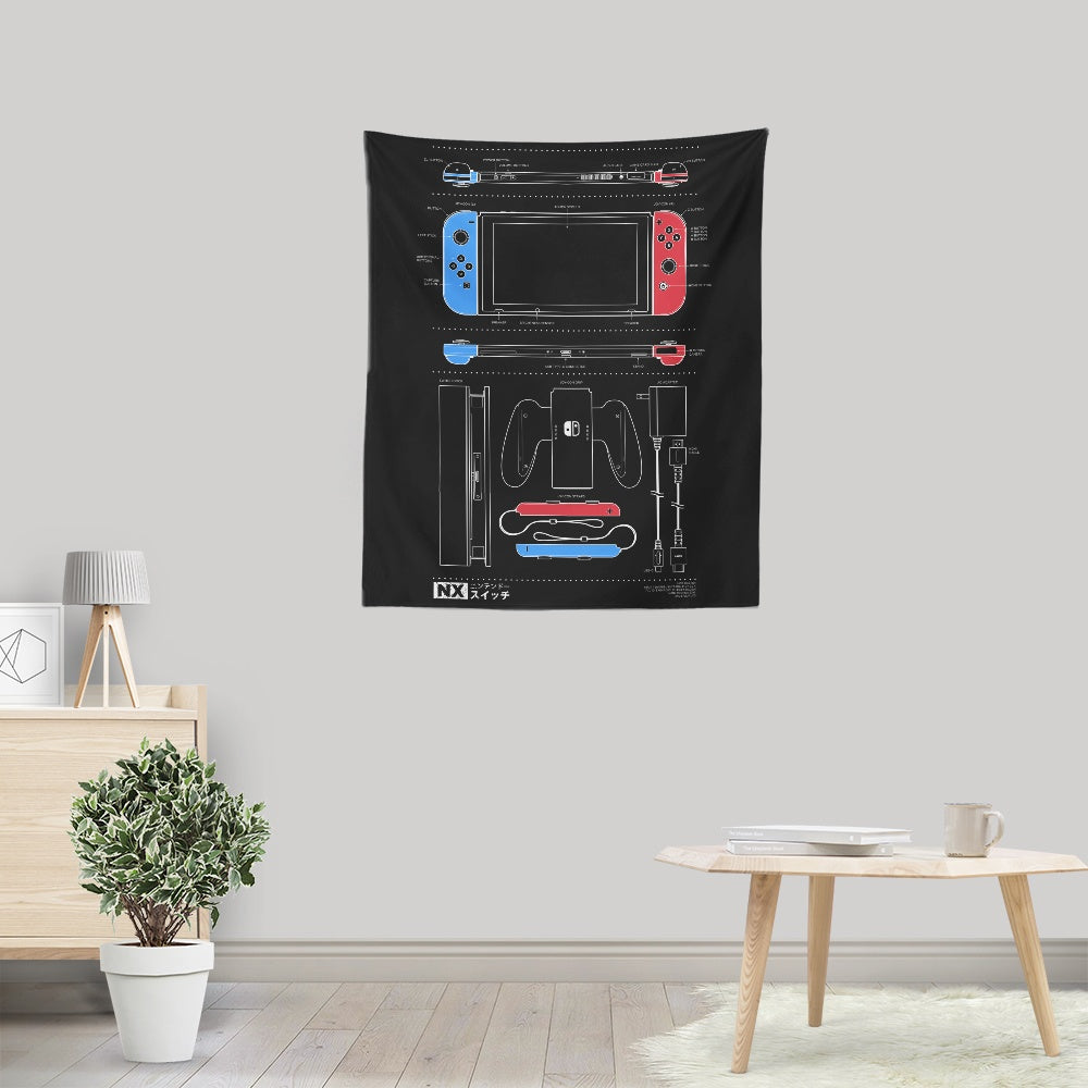 NX - Wall Tapestry