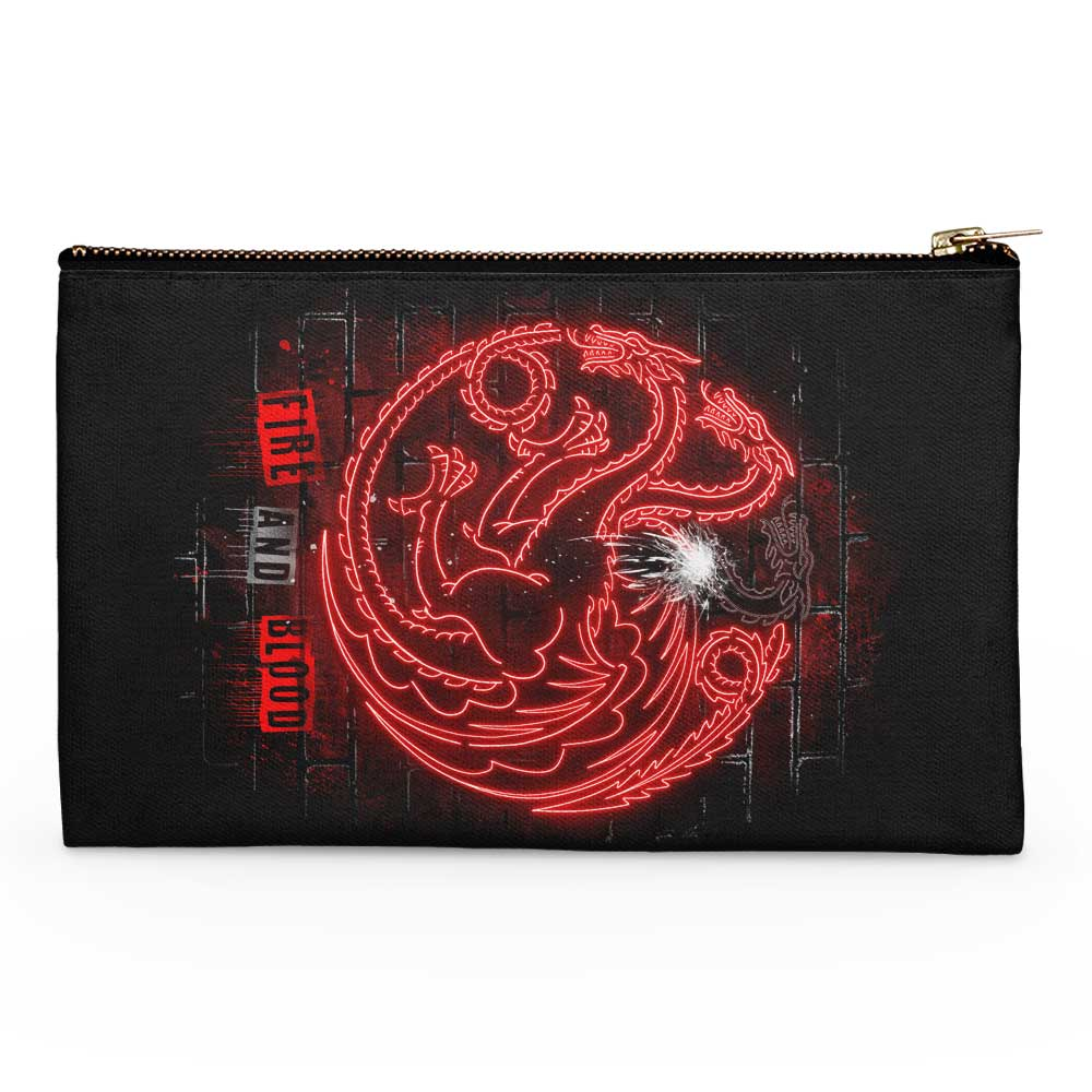 Neon Dragons - Accessory Pouch