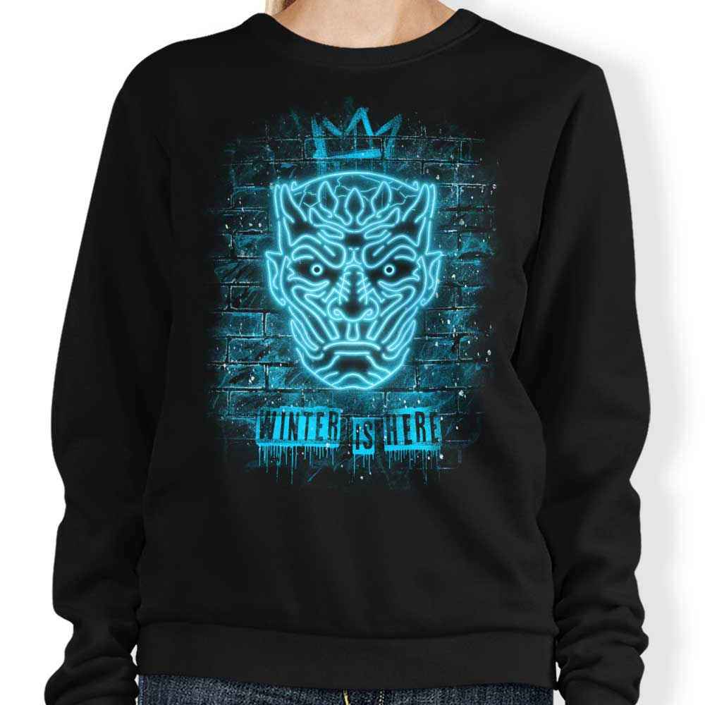 Neon Ice King - Sweatshirt