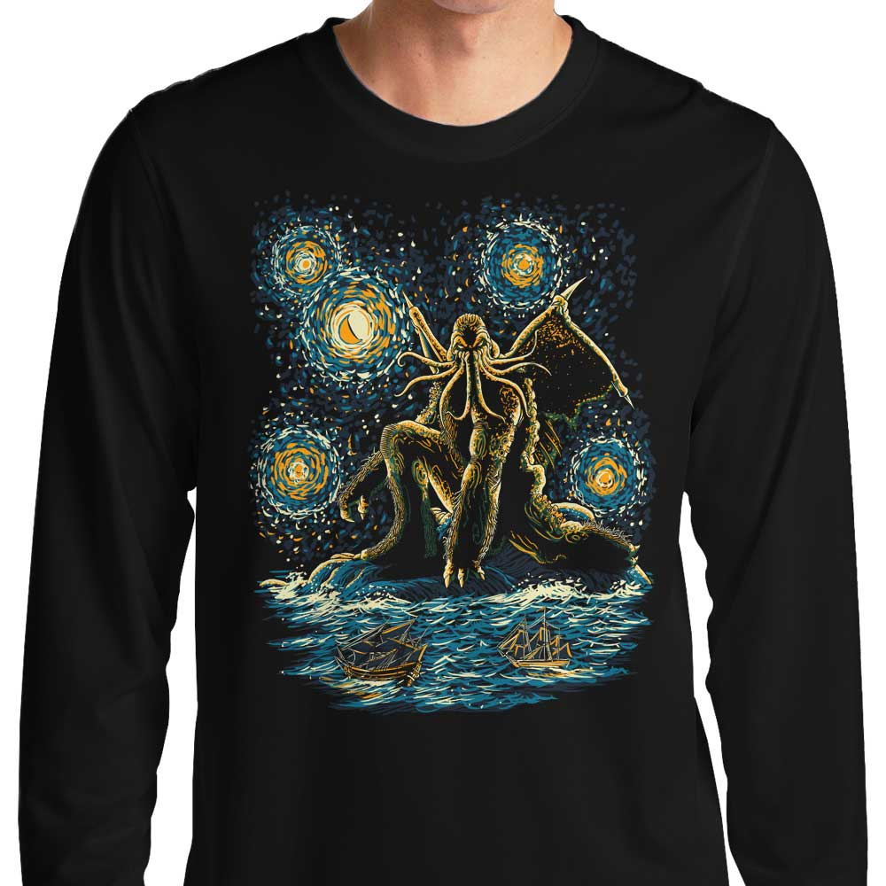 Night of Cthulhu - Long Sleeve T-Shirt