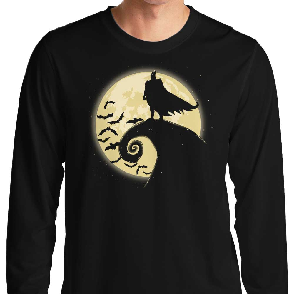 Nightmare Before Batmas - Long Sleeve T-Shirt