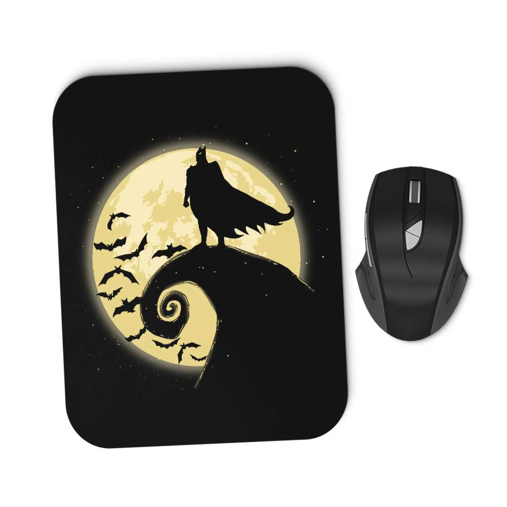 Nightmare Before Batmas - Mousepad
