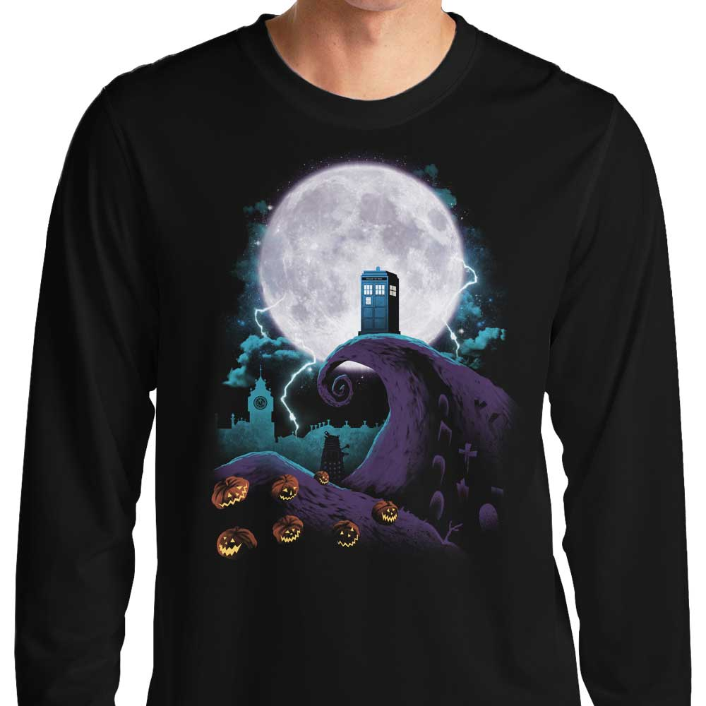 Nightmare Before Gallifrey - Long Sleeve T-Shirt