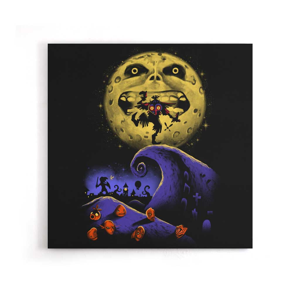 Nightmare Before Termina - Canvas Print