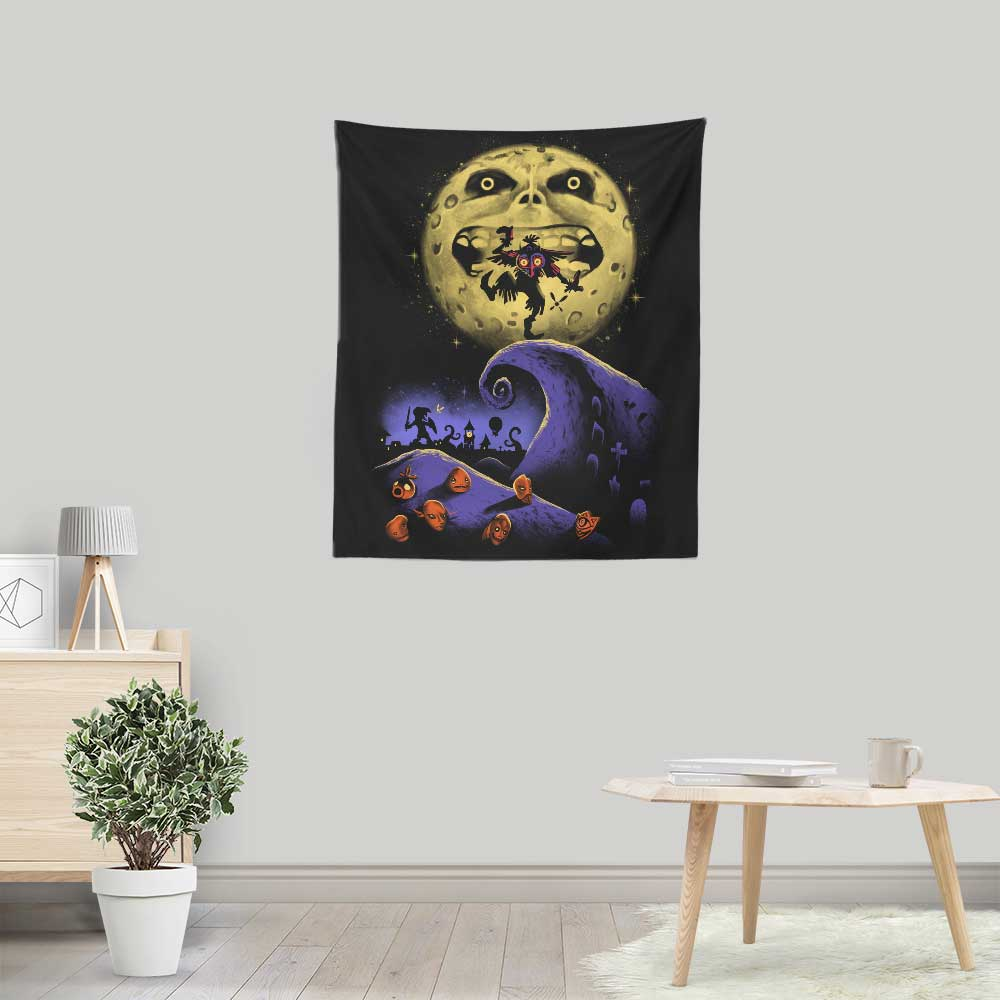 Nightmare Before Termina - Wall Tapestry