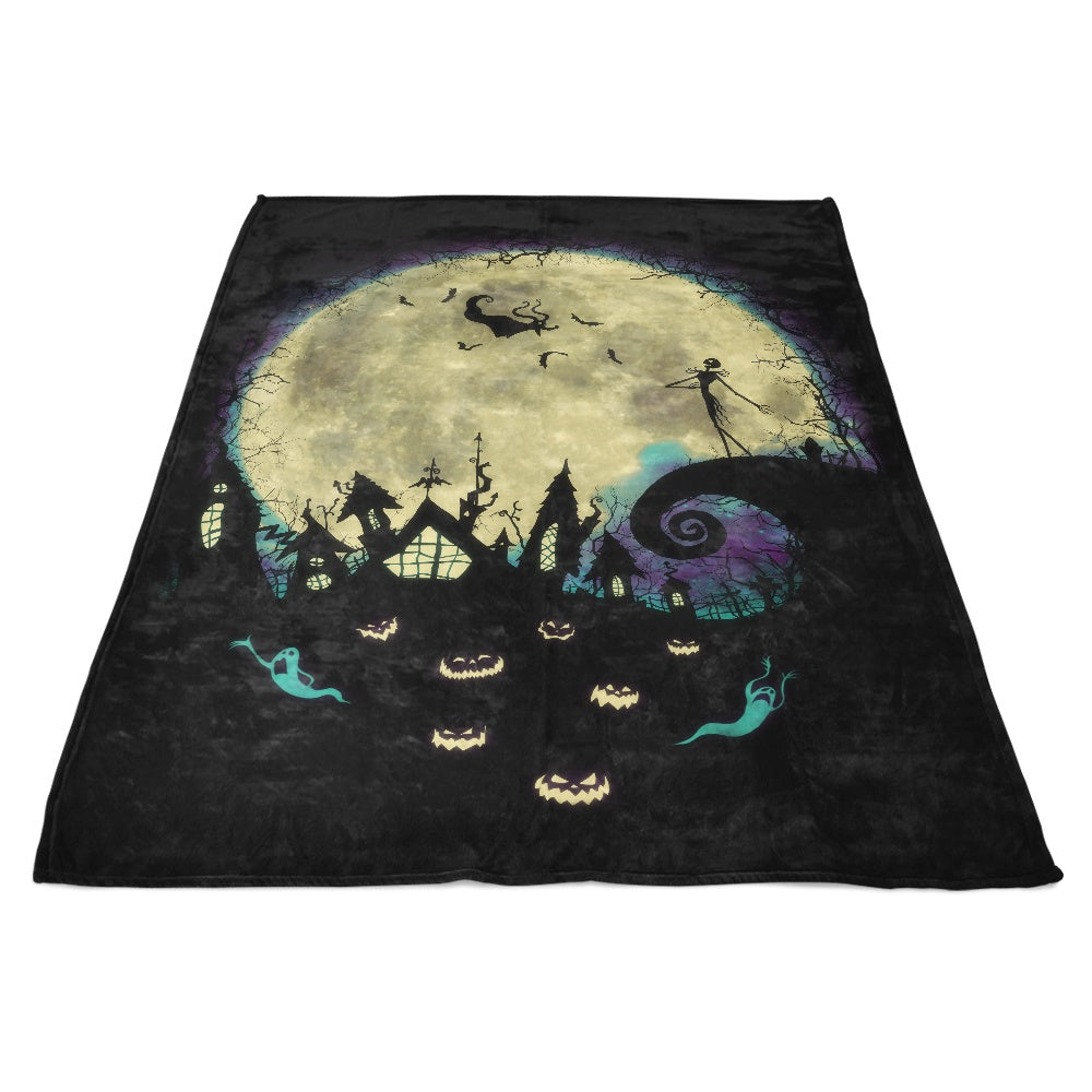 Nightmare Moon - Fleece Blanket