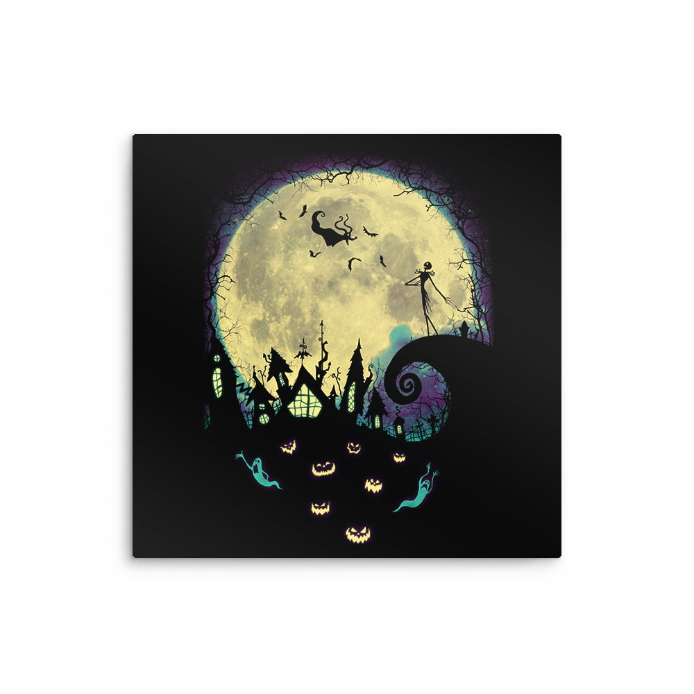 Nightmare Moon - Metal Print