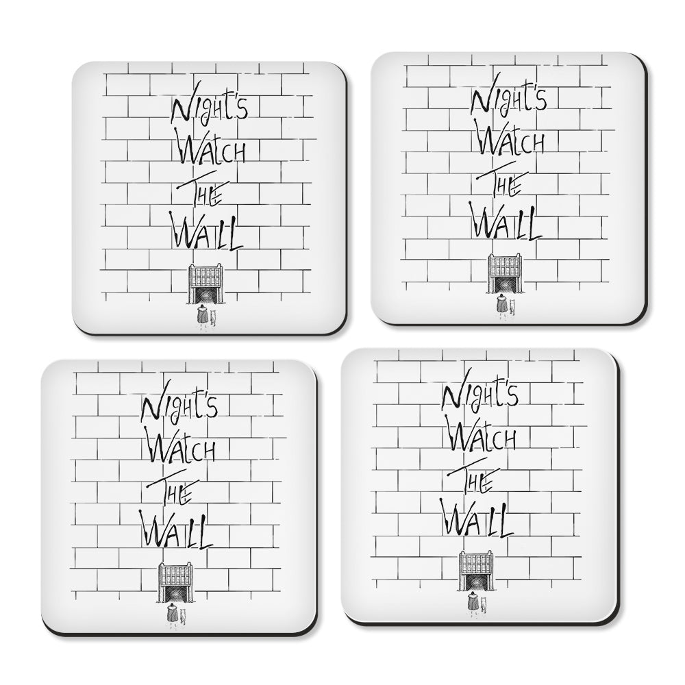 Night's Watch the Wall - Coasters