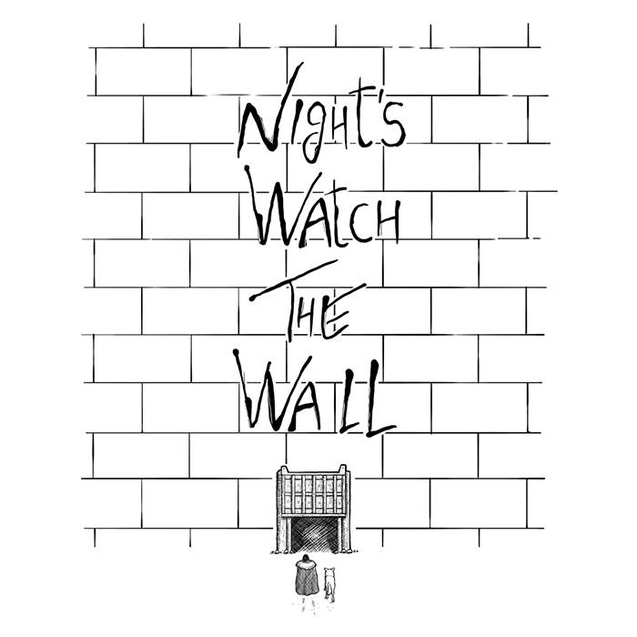 Night's Watch The Wall T-Shirt