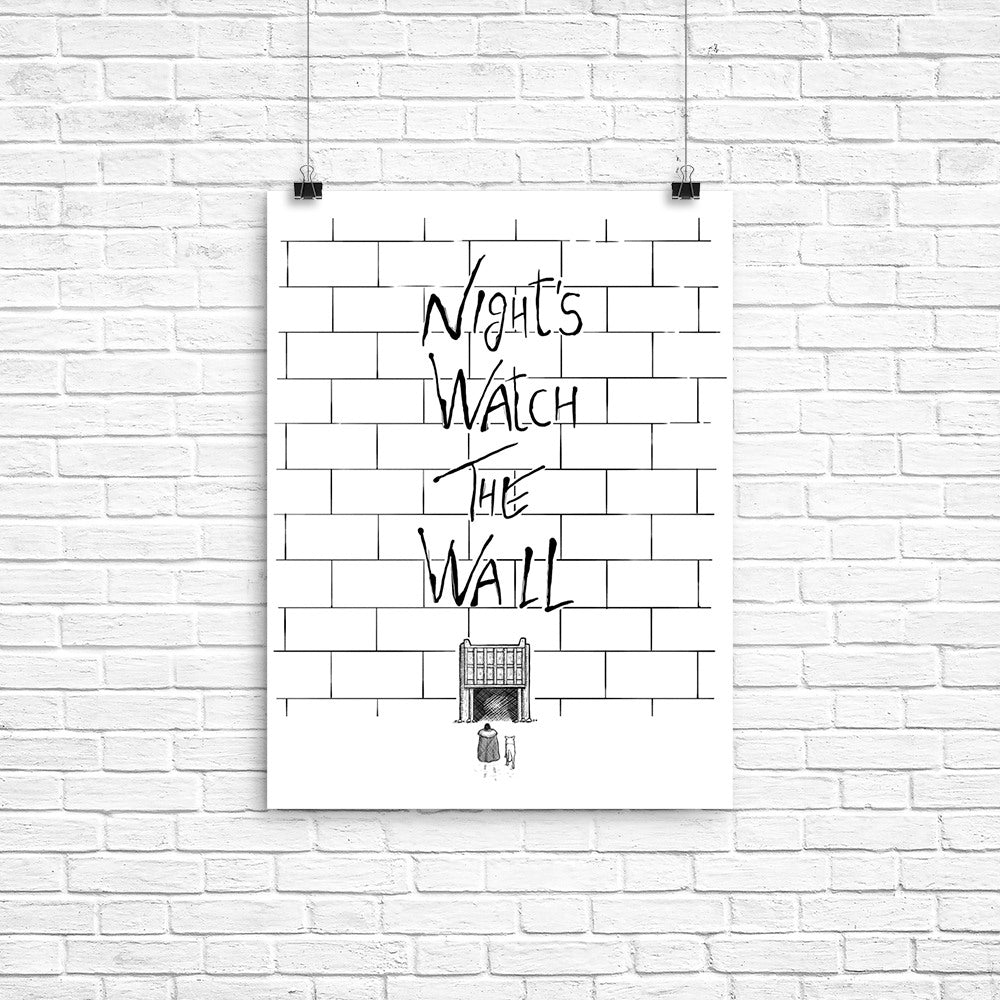 Night's Watch the Wall - Poster