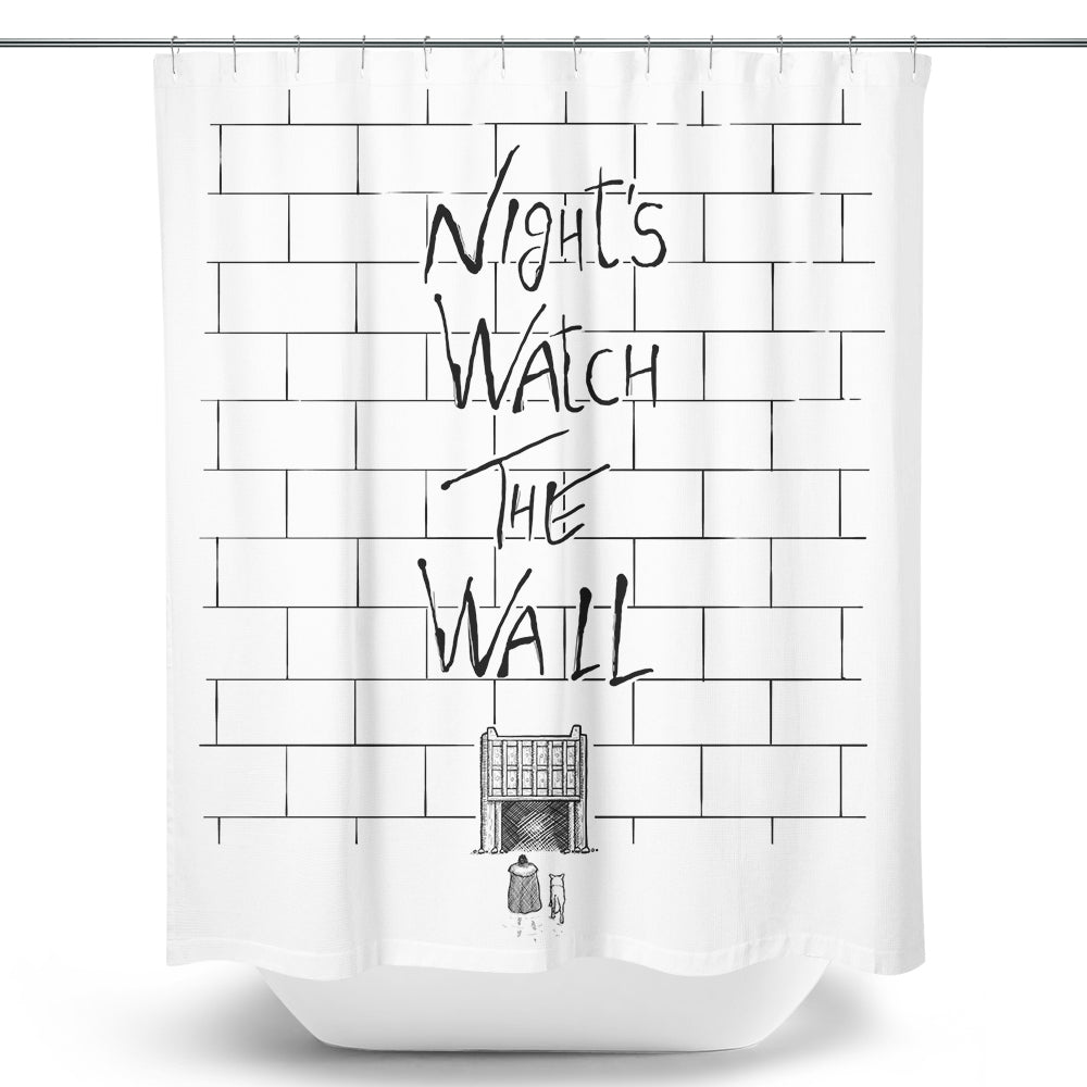 Night's Watch the Wall - Shower Curtain