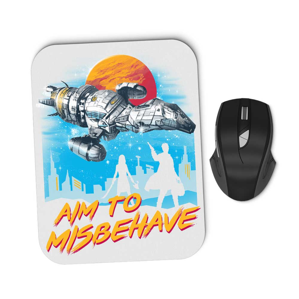 No More Running - Mousepad