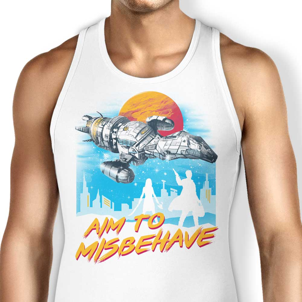 No More Running - Tank Top