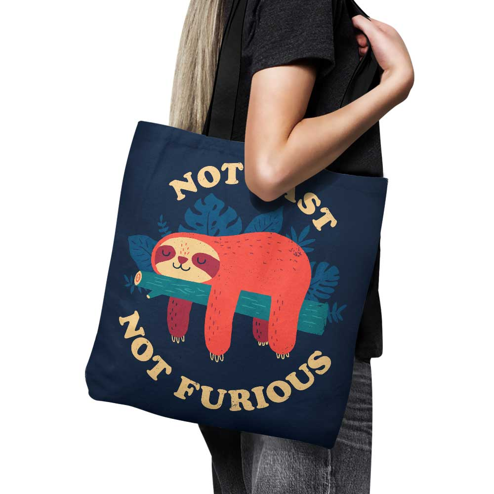 Not Fast, Not Furious - Tote Bag