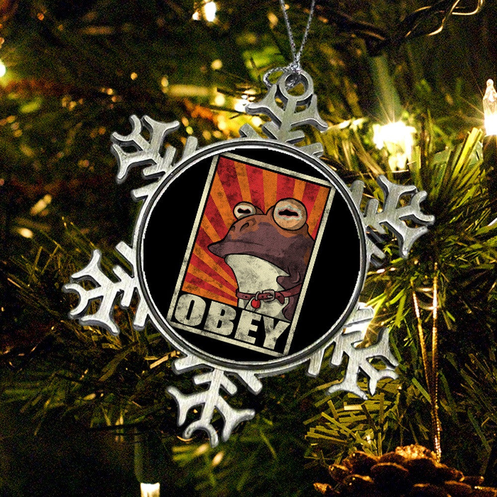 Obey the Hypnotoad - Ornament