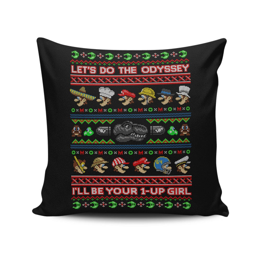 Odyssey Sweater - Throw Pillow