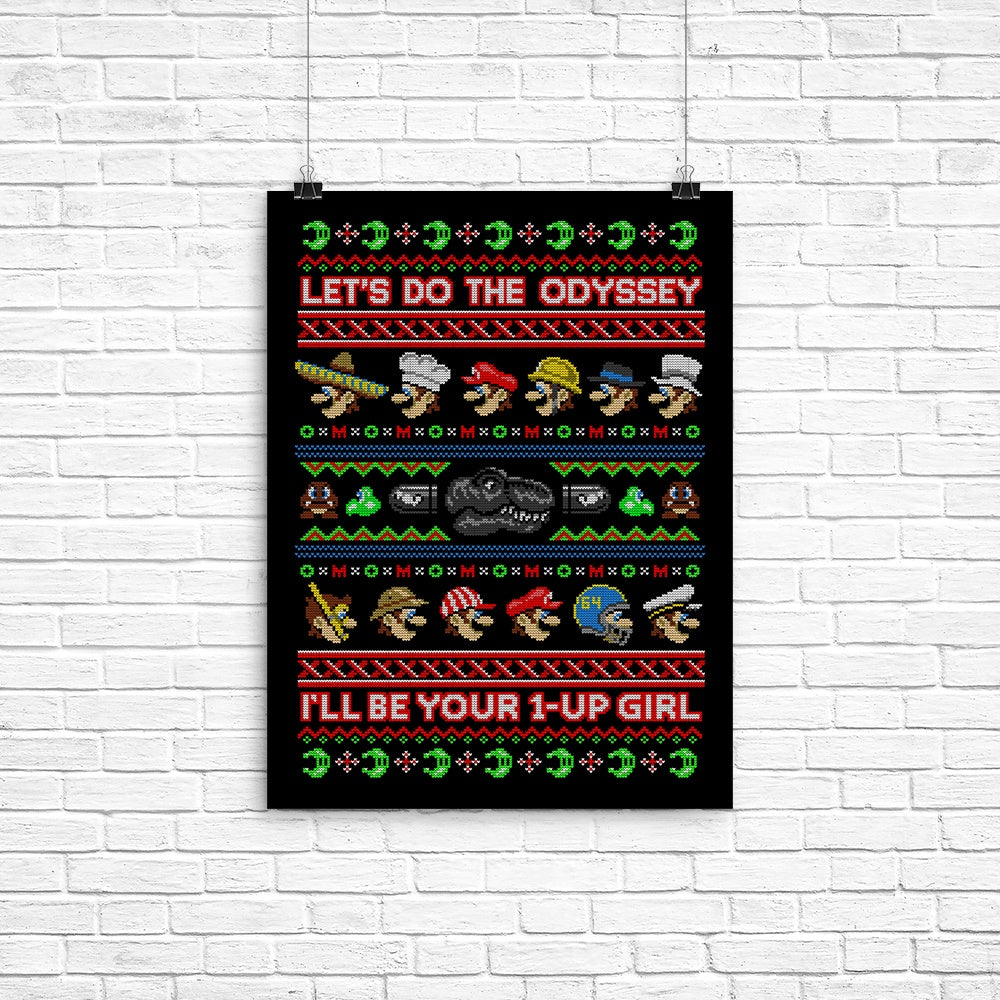Odyssey Sweater - Poster