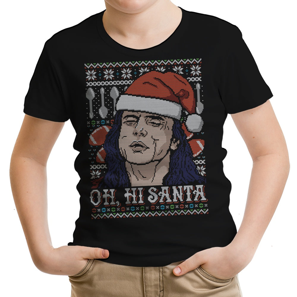 Oh Hi, Santa - Youth Apparel