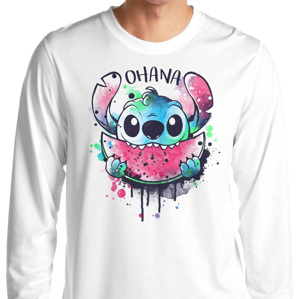 Ohana Watercolormelon - Long Sleeve T-Shirt