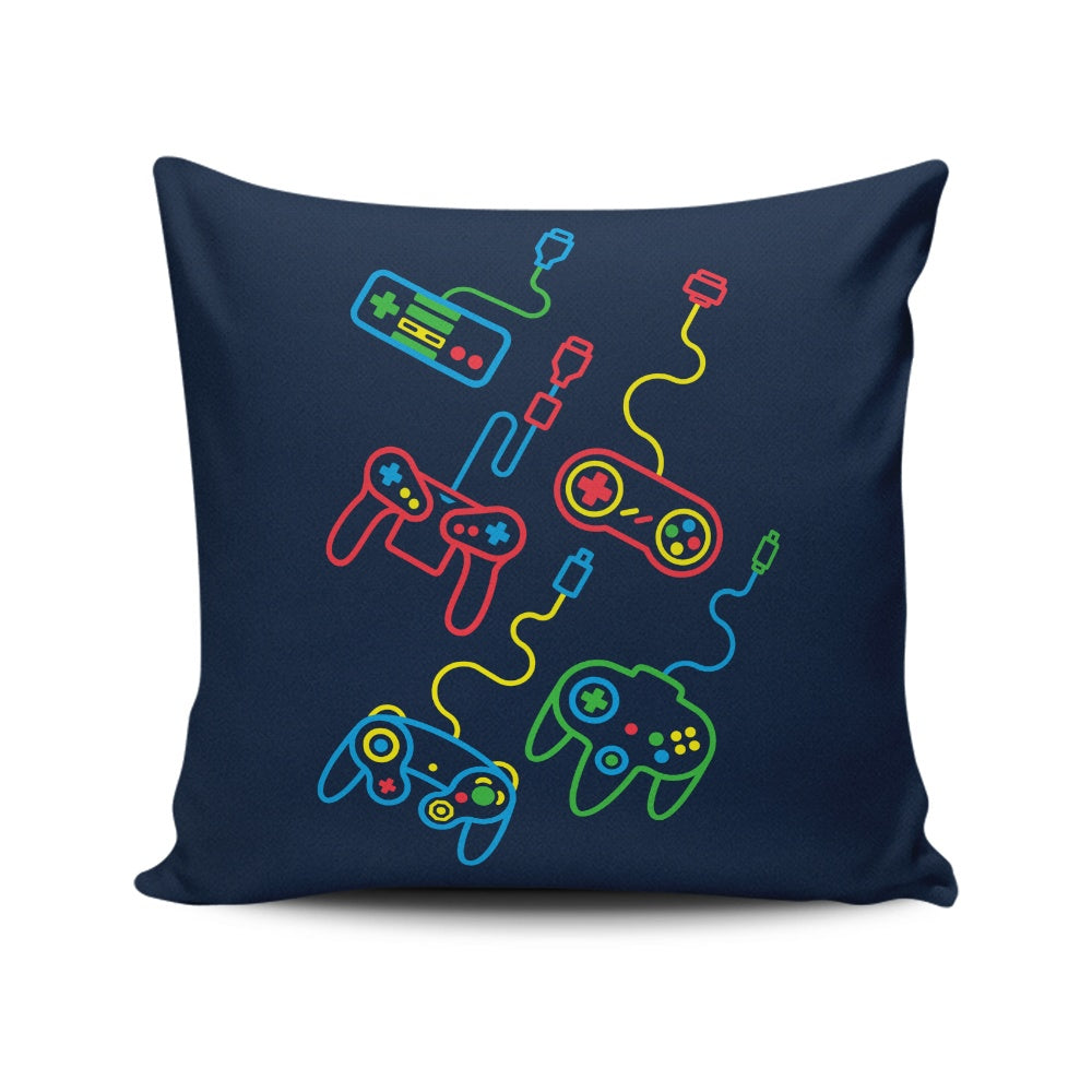 Old School - Throw Pillow