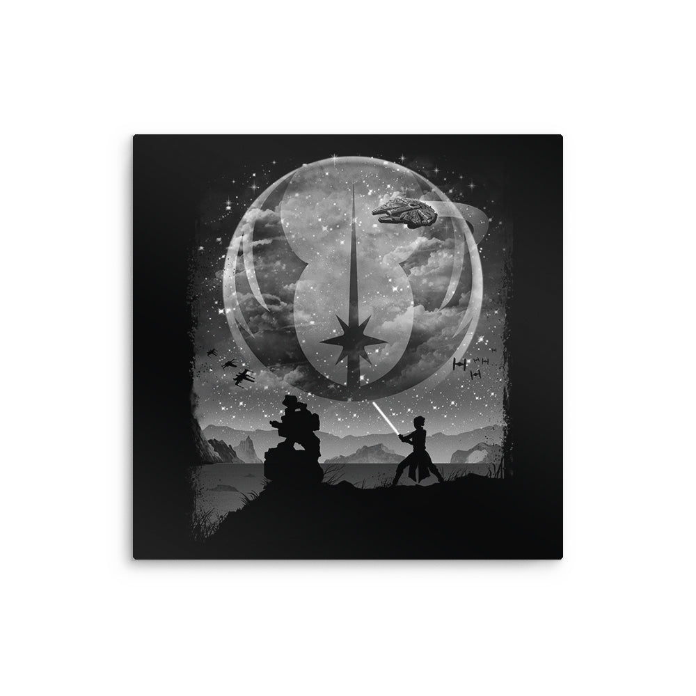 One With the Force - Metal Print