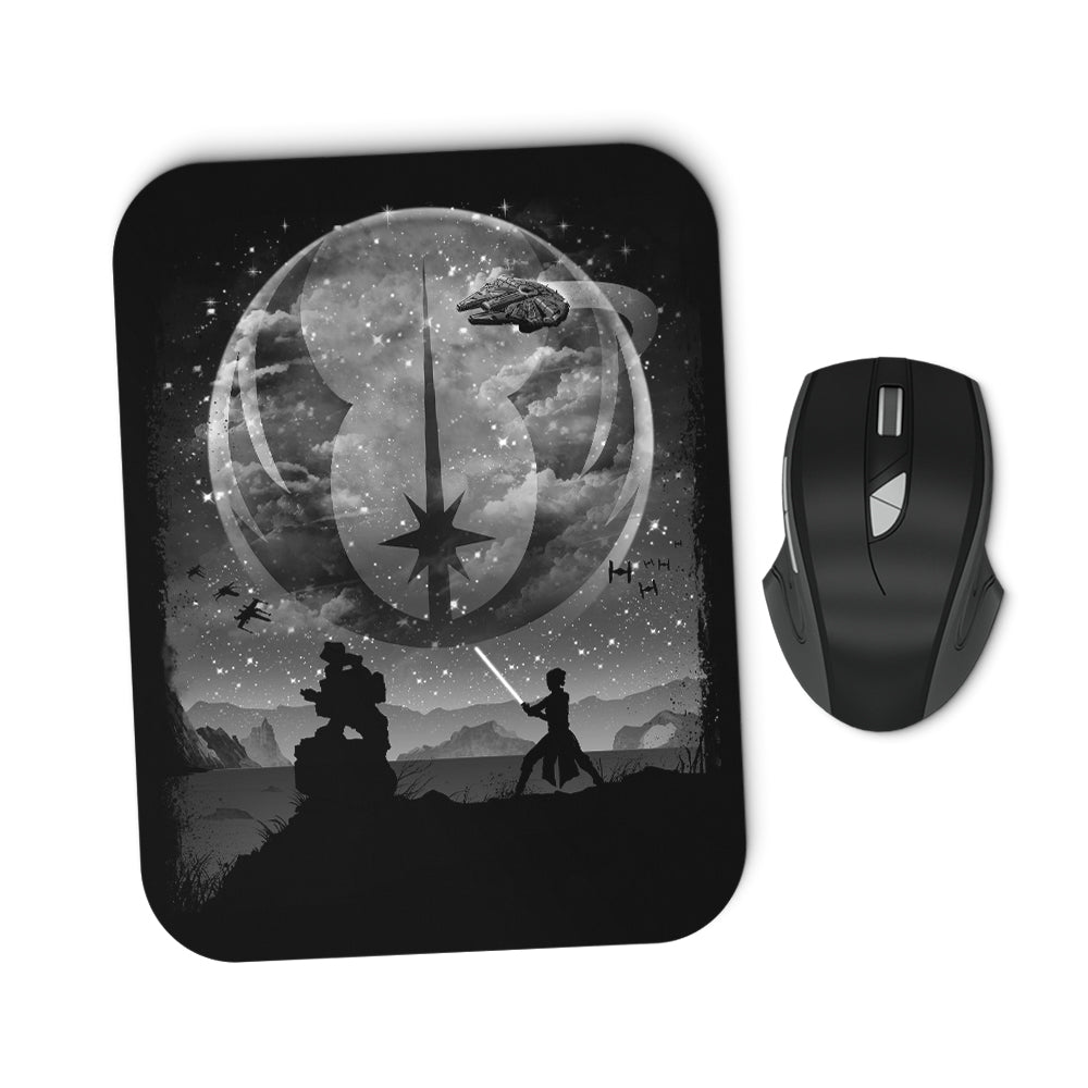One With the Force - Mousepad