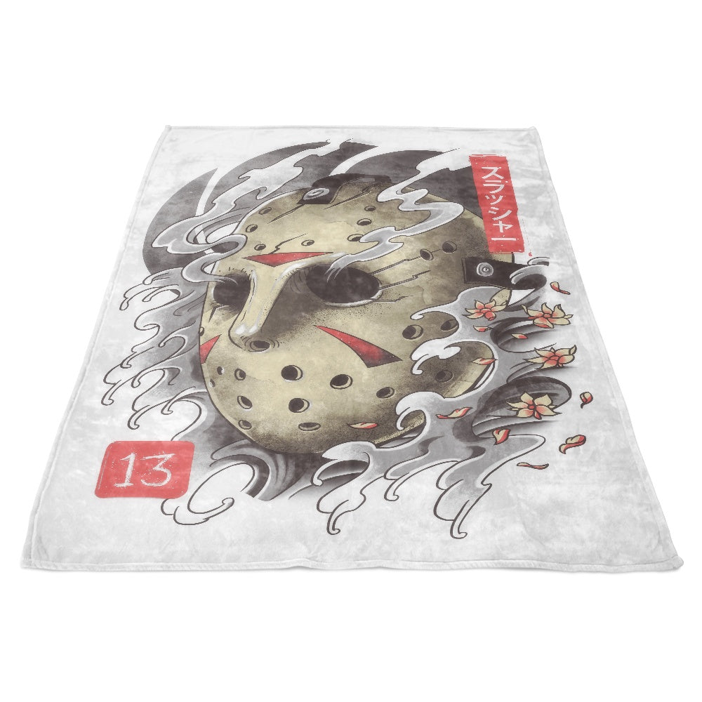 Oni 13 Mask - Fleece Blanket