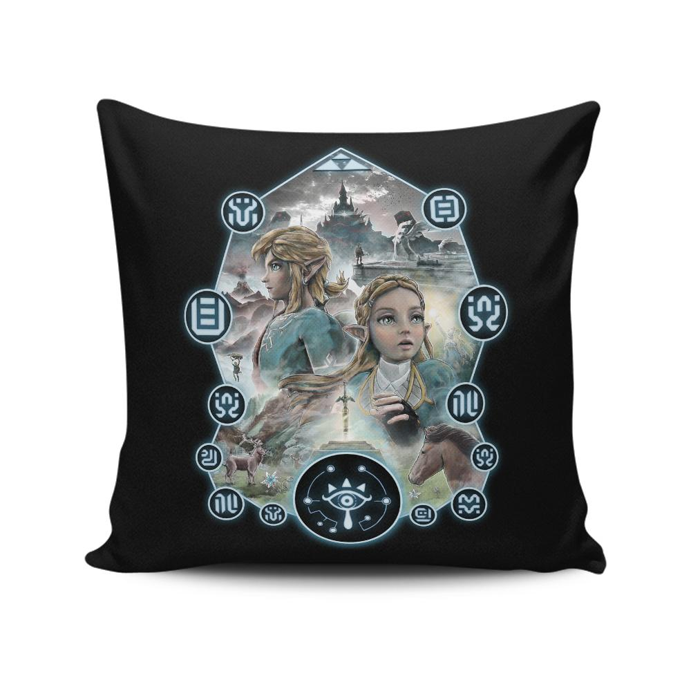 Open Your Eyes - Throw Pillow