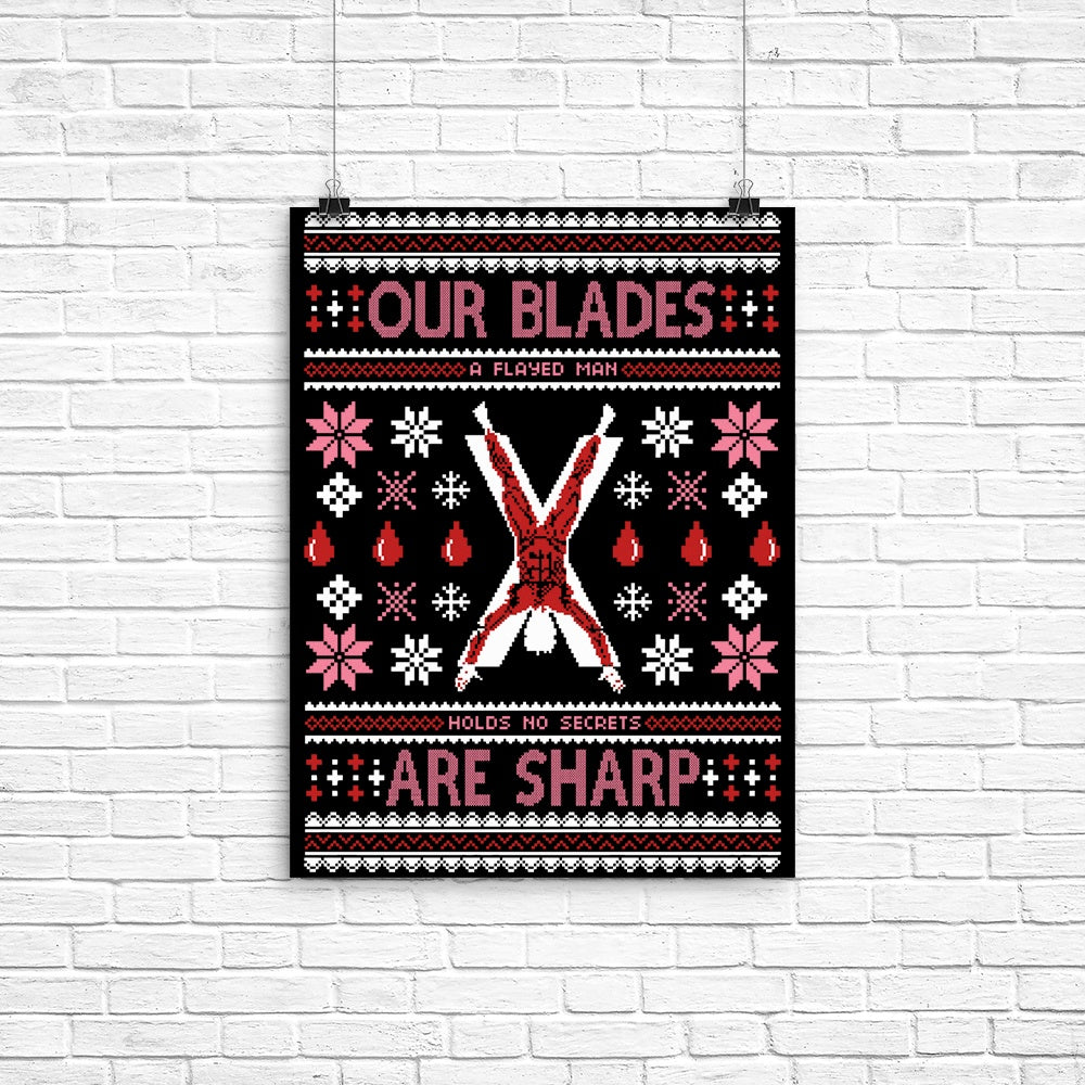 Our Sweaters are Stitched - Poster