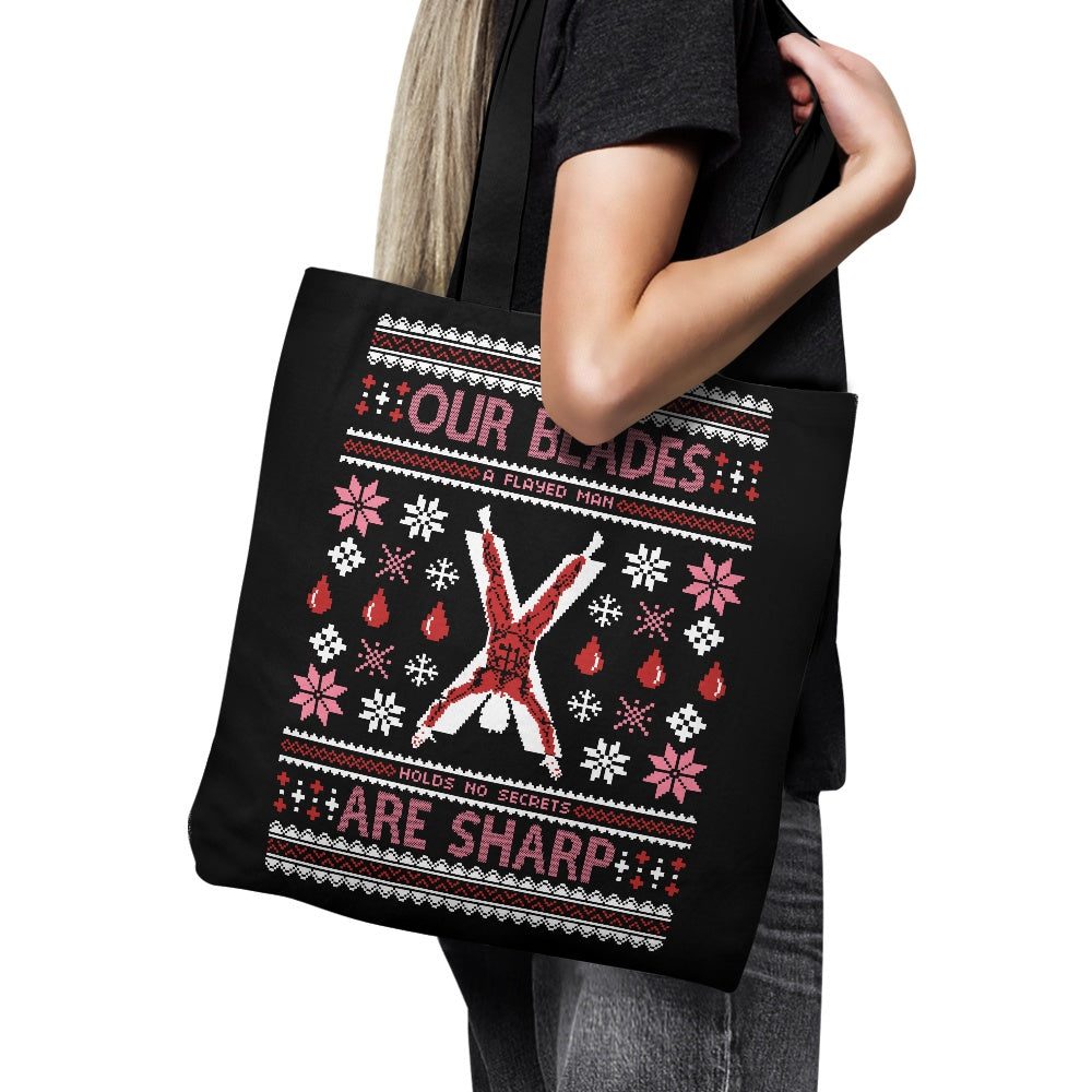 Our Sweaters are Stitched - Tote Bag