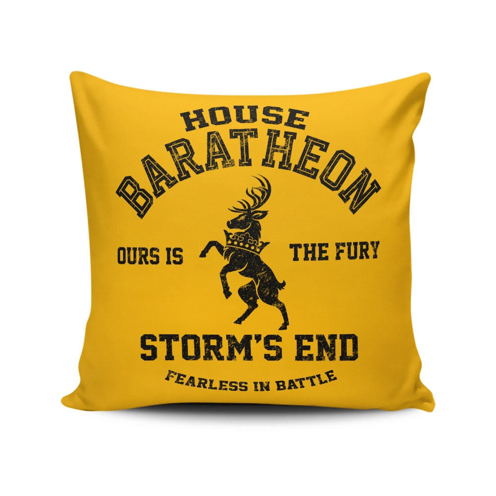 Ours is the Fury (Alt) - Throw Pillow