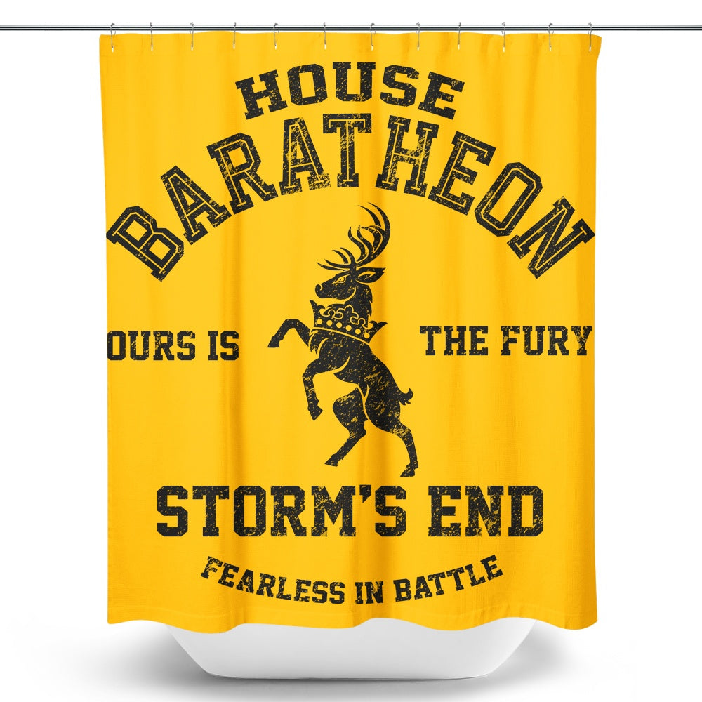 Ours is the Fury (Alt) - Shower Curtain