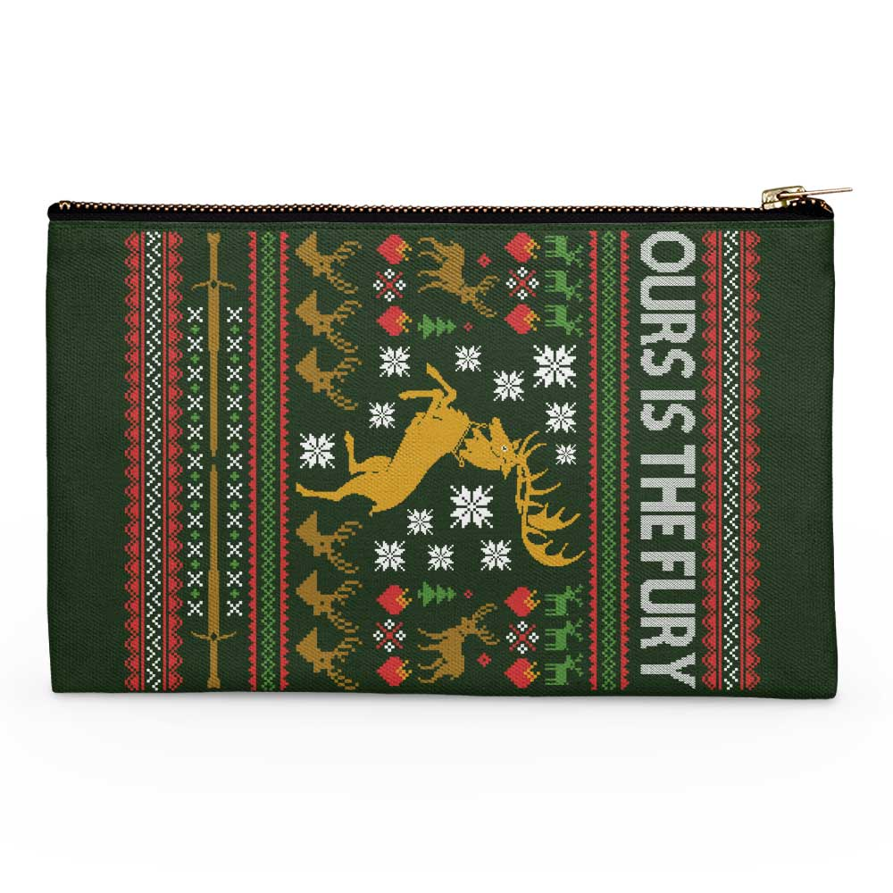 Ours is the Holiday - Accessory Pouch