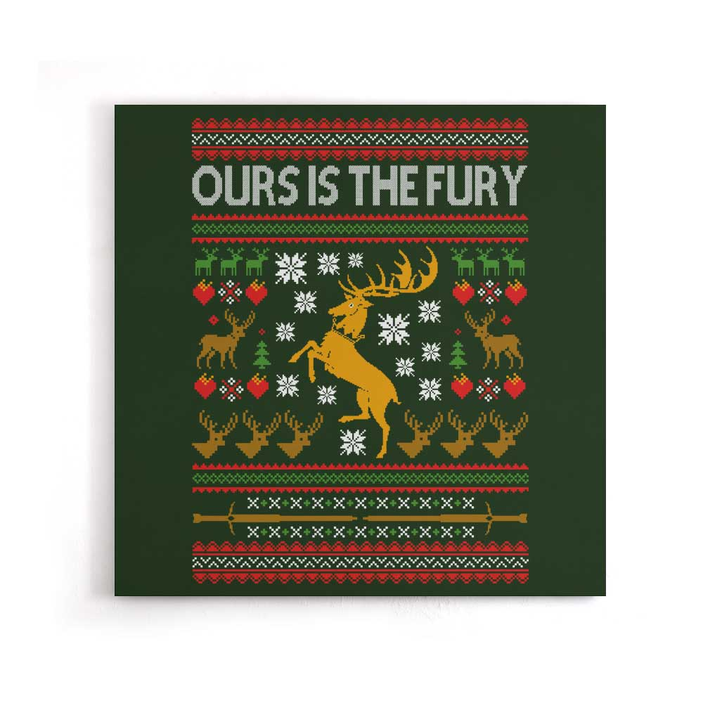 Ours is the Holiday - Canvas Print