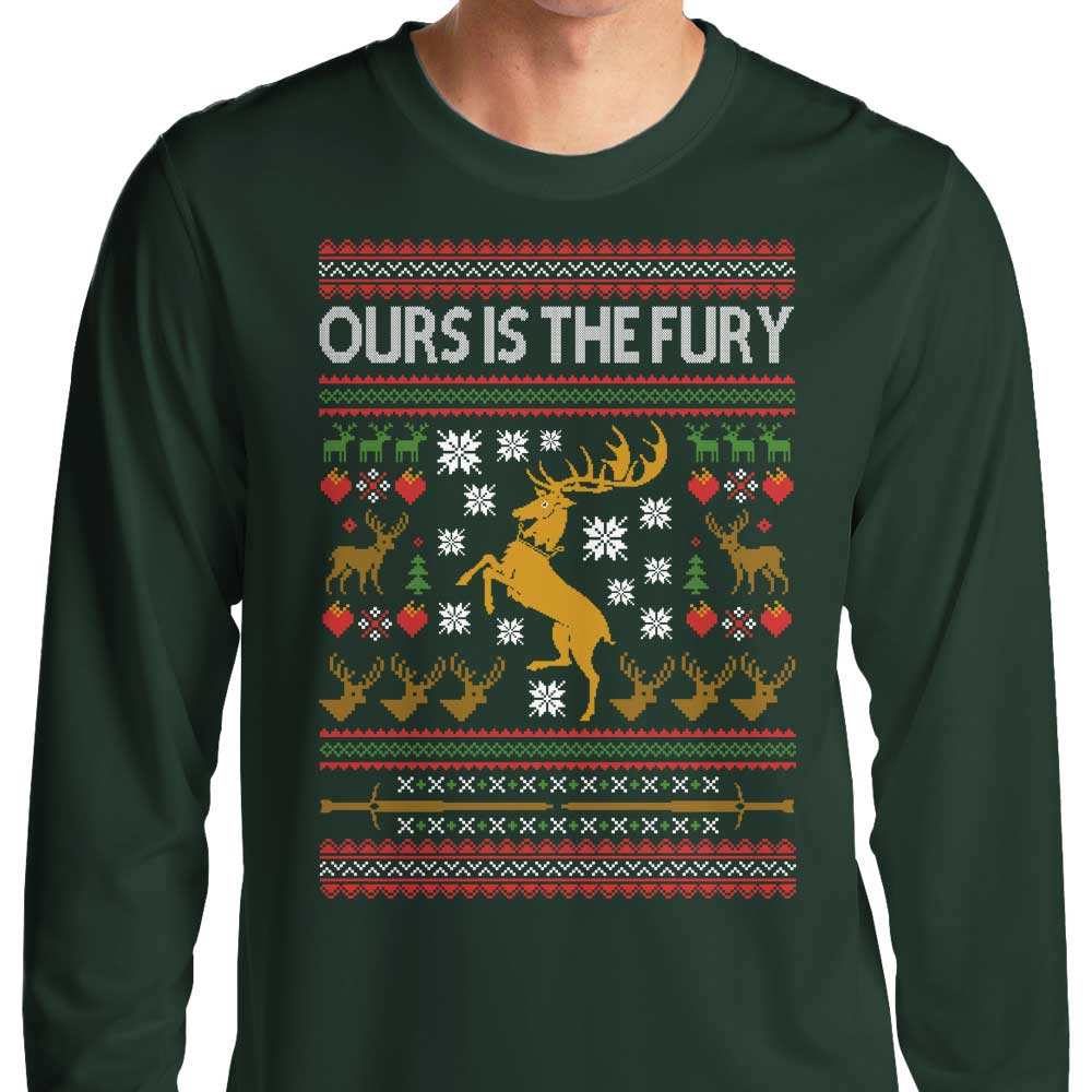 Ours is the Holiday - Long Sleeve T-Shirt
