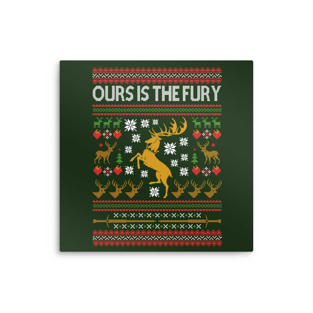 Ours is the Holiday - Metal Print