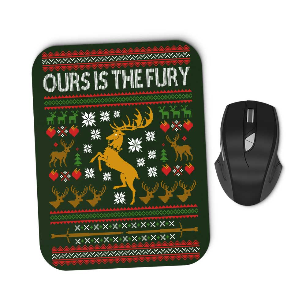 Ours is the Holiday - Mousepad